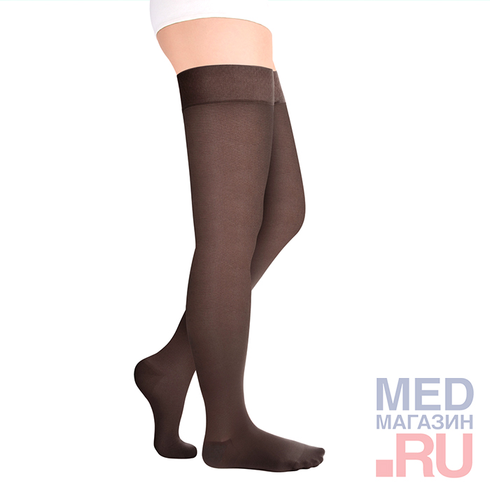 Купить ID-301T Чулки медицинские компрессионные LUOMMA IDEALISTA (2 класс, закрытый носок), Экотен, Россия