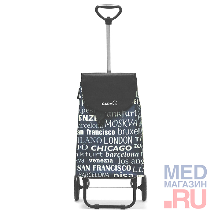 Купить Тележка с сумкой TELESCOPICO CITIES (204TL CITIES), Garmol, Испания