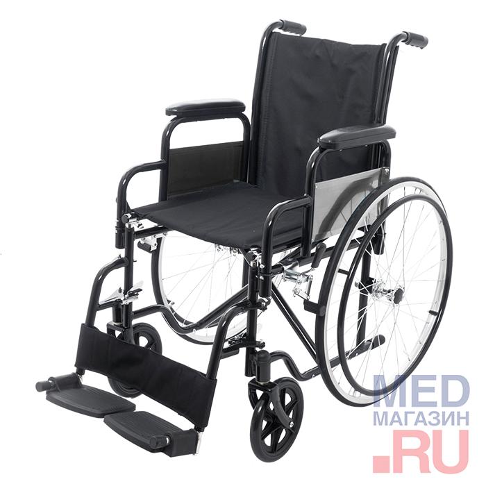 Кресло-коляска механическое Barry A3 с принадлежностями