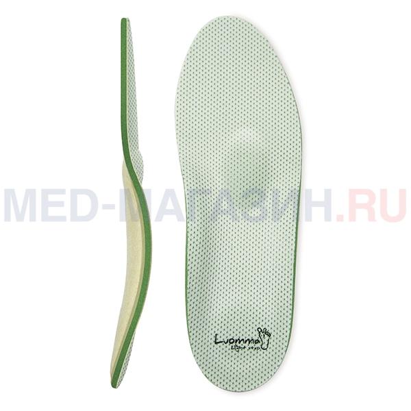Купить Стельки ортопедические каркасные Control (контроль запаха) Lum 209, Luomma, Россия