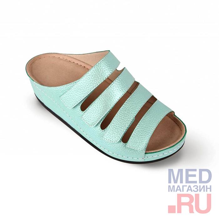 LM-503.009 Обувь ортопедическая малосложная LM ORTOPEDIC, мята, жен. фото