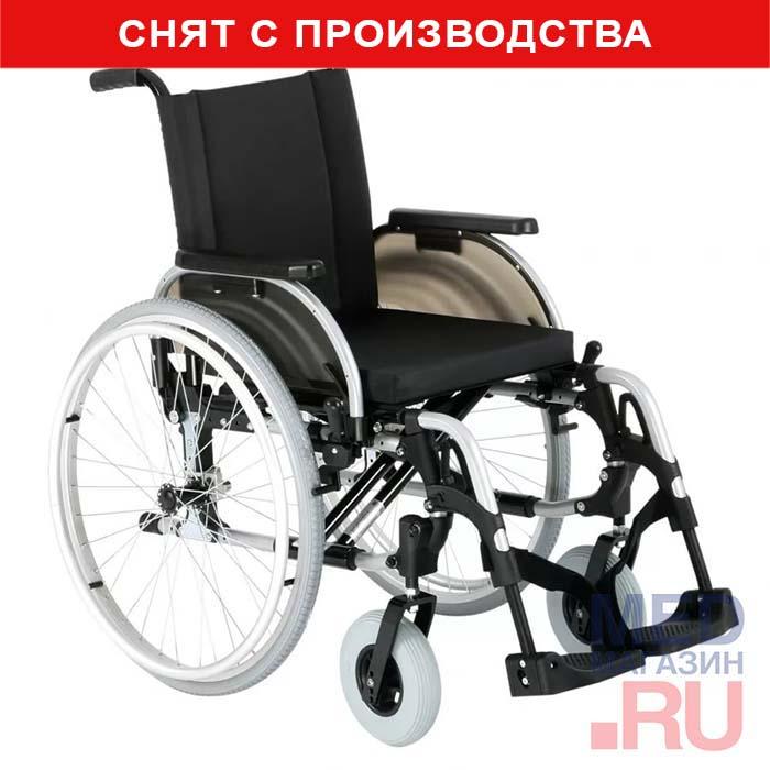 Инваллидная кресло-коляска ОТТО БОКК Старт Эффект (Ottobock Start Effect) фото