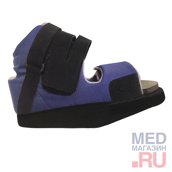 Купить Обувь ортопедическая малосложная LUOMMA LM-404, Синий, XL(44-46), Экотен, Россия