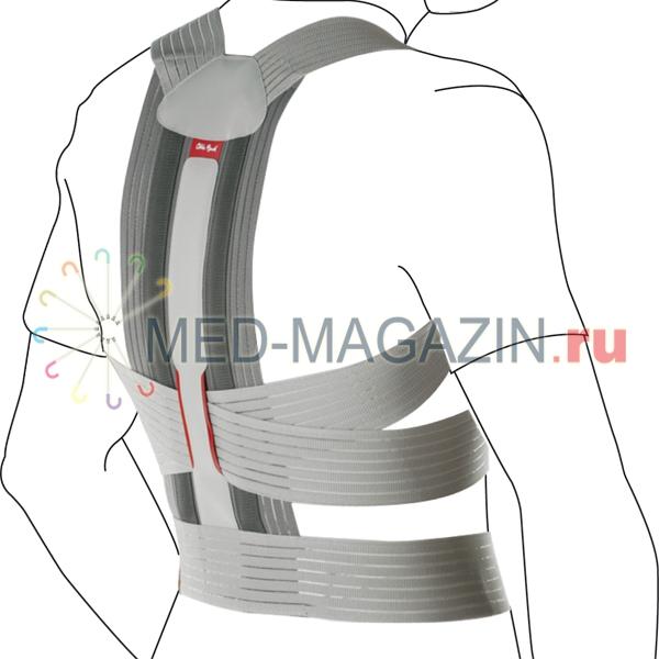 Купить Корректор осанки ортопедический (реклинатор) Dorso Carezza Posture Арт. 50R49 M (90-100 см), Ottobock, Эстония
