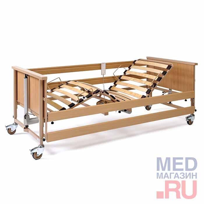 Кровать медицинская функциональная с электроприводом Economic II для лежачих больных
