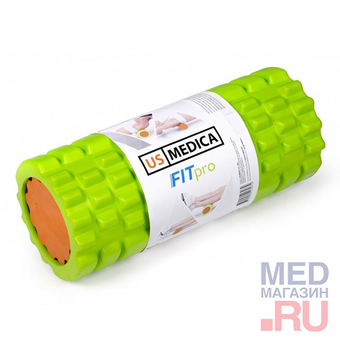 Купить Спортивный валик US Medica Fit PRO (салатовый), США