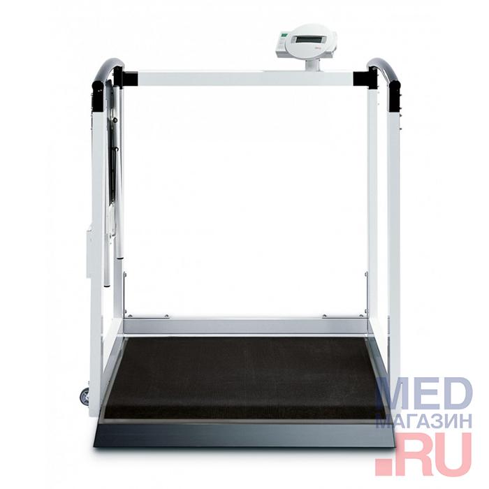 Весы медицинские электронные напольного типа seca, с принадлежностями: вариант исполнения 684 фото