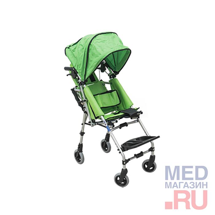 K4 кресло-коляска механическая детская barry с капюшоном, 36 см