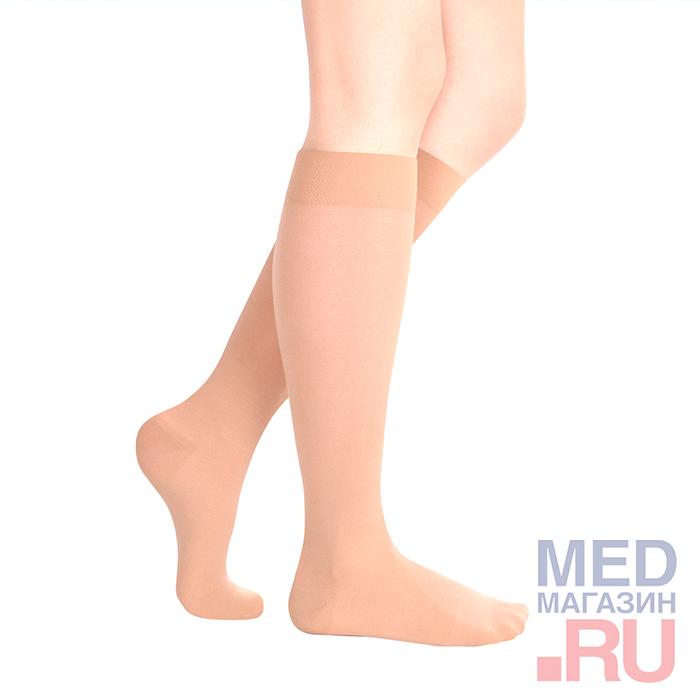 """Гольфы медицинские компрессионные """"LUOMMA IDEALISTA"""" арт. ID-200 (2 класс, закрытый носок) фото"""