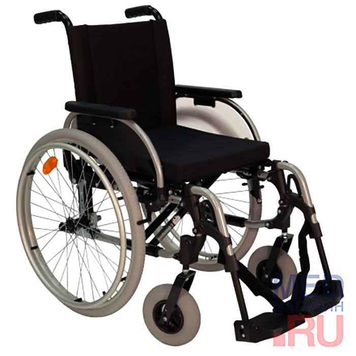 Кресло-коляска СТАРТ (комплект 12: спинка с регулировкой натяжения обшивки, антиопрокидывающим устройством, набором инструментов) фото