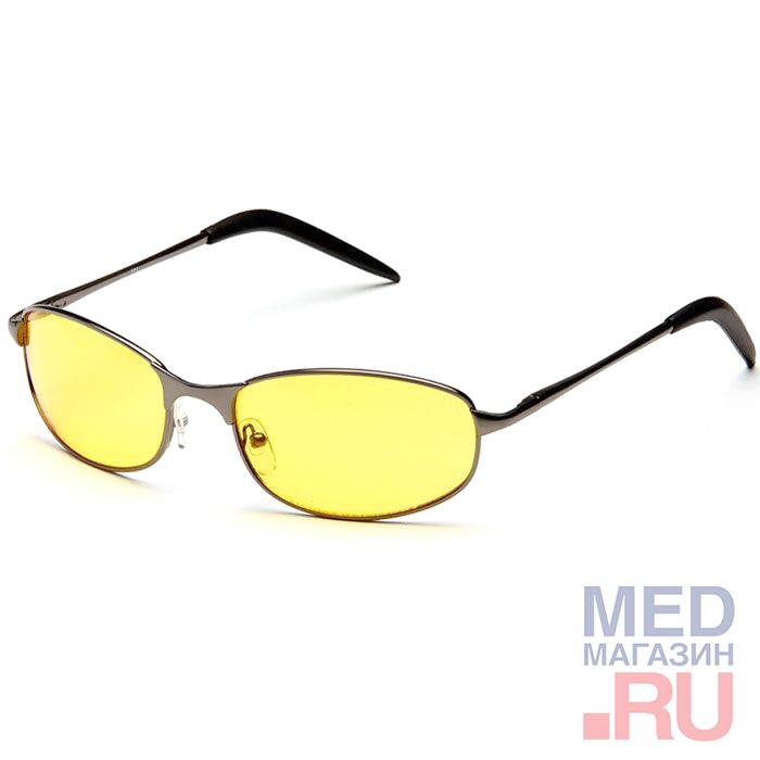Купить Водительские Федоровские релаксационные комбинированные очки в тканевом чехле с салфеткой (арт.AD001): Цвет оправы - Темно-серебристые, Alis96