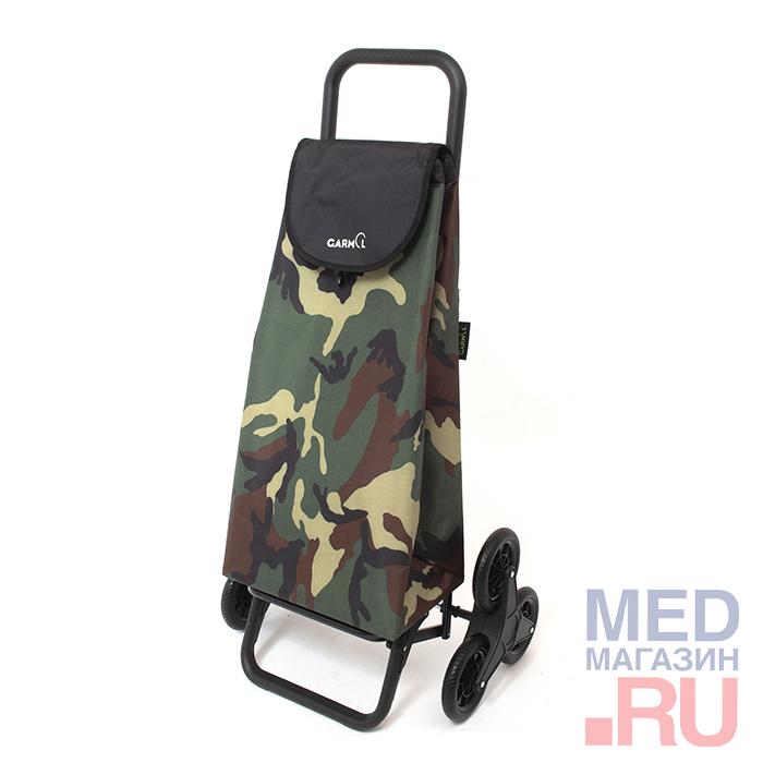 Купить Тележка с сумкой CAMUFLAJE шасси G3х3 (218G3х3CMF), Garmol, Испания