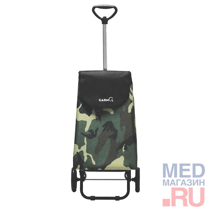 Купить Тележка с сумкой TELESCOPICO CAMUFLAJE (204TL CMF), Garmol, Испания