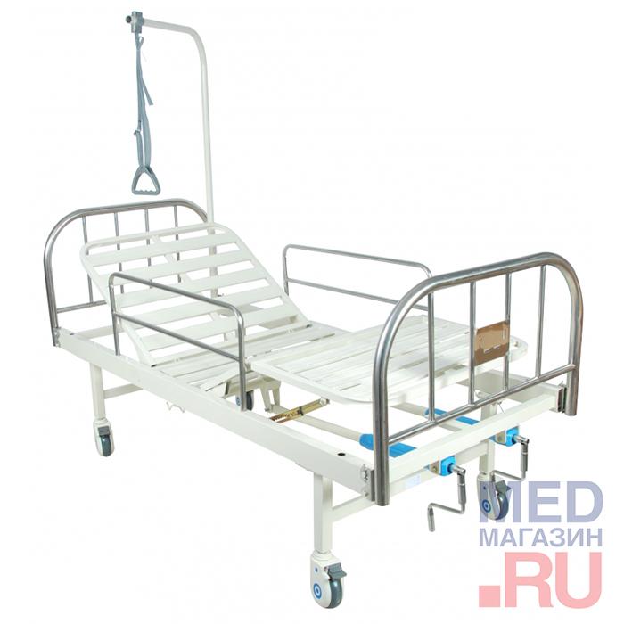 Купить Кровать медицинская функциональная F-8 (ММ-07) для лежачих больных, Медтехника Москва, Китай