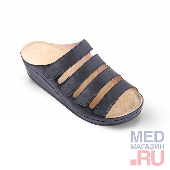LM-503.033 Обувь ортопедическая малосложная LM ORTOPEDIC, графит, жен. фото