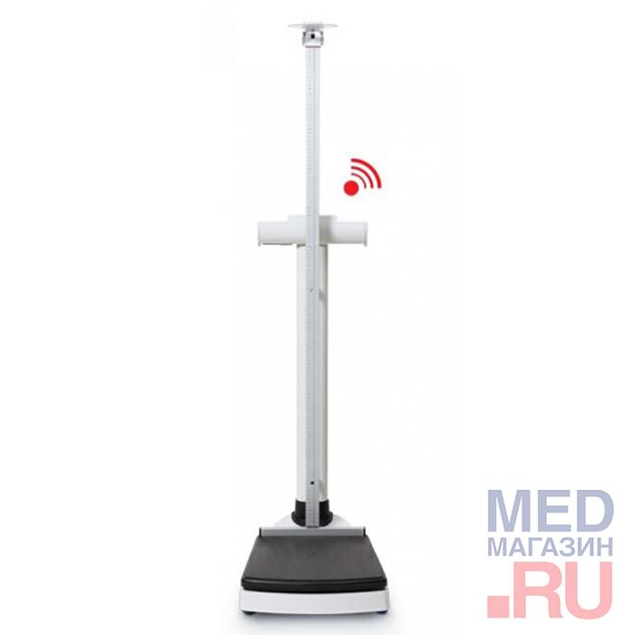 Весы медицинские электронные колонного типа seca, с принадлежностями: вариант исполнения 703 с ростомером 220 фото