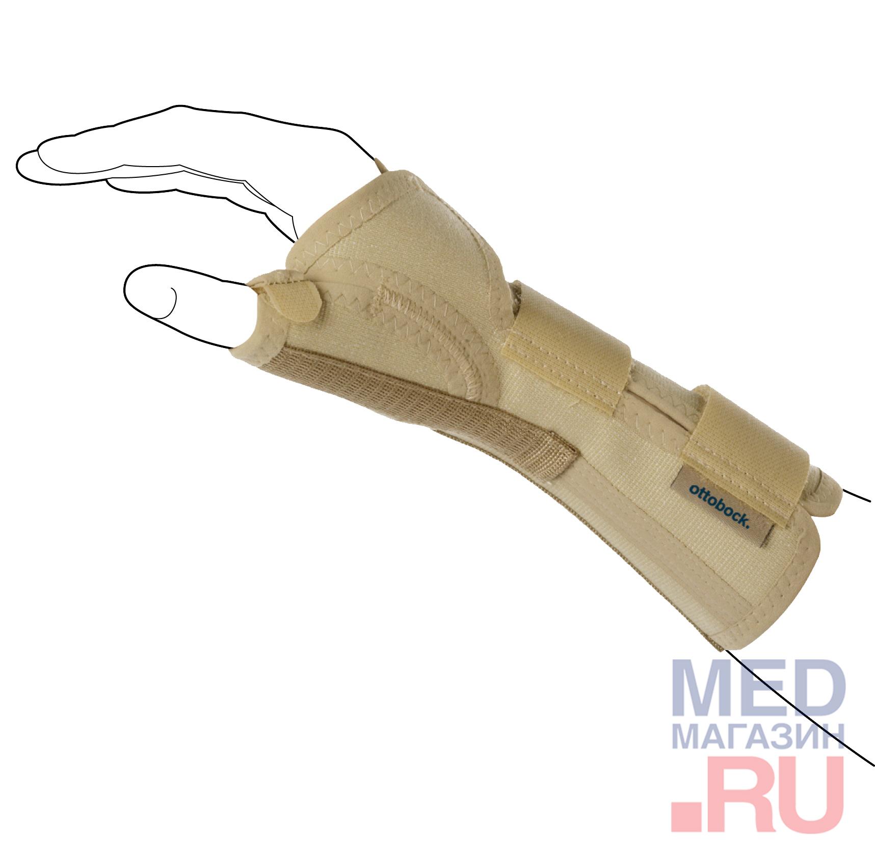 Купить RB 4146 Ортез на лучезапястный сустав Manu 3D Pollex, Левый, S, Ottobock, Германия