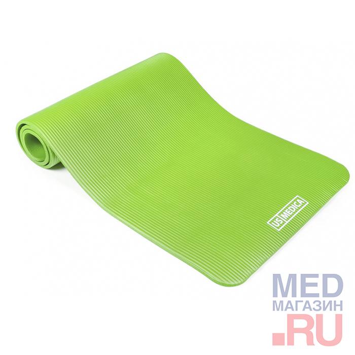 Купить Спортивный коврик US Medica Comfort Fit салатовый, США