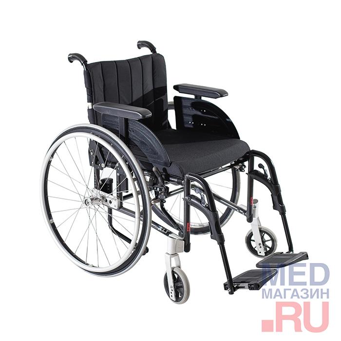 Кресла-коляска механическая Invacare REA с принадлежностями, вариант исполнения XLT Swing фото