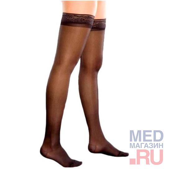 74 Чулки для страдающих варикозным расширением вен (XL, Чёрный)