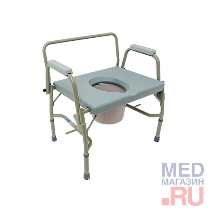 Кресло-туалет арт. 10582 повышенной грузоподъемности