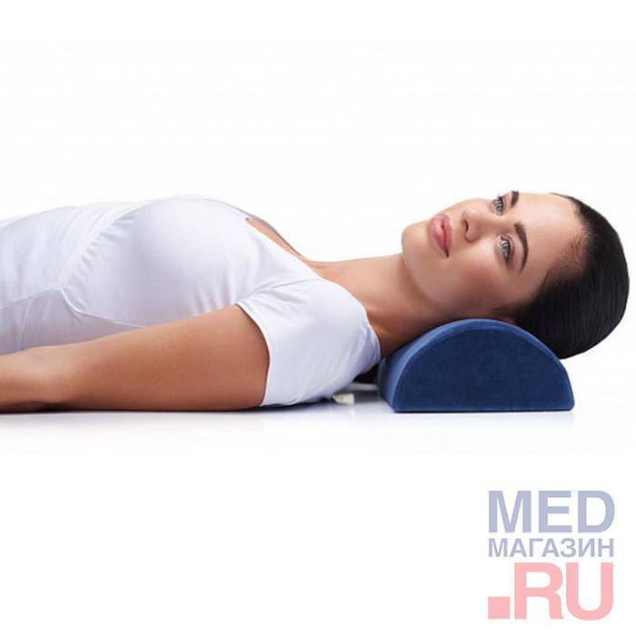 Купить ПФ209 Подушка ортопедическая ROLLER уменьшает мышечное напряжение, Trelax, Россия