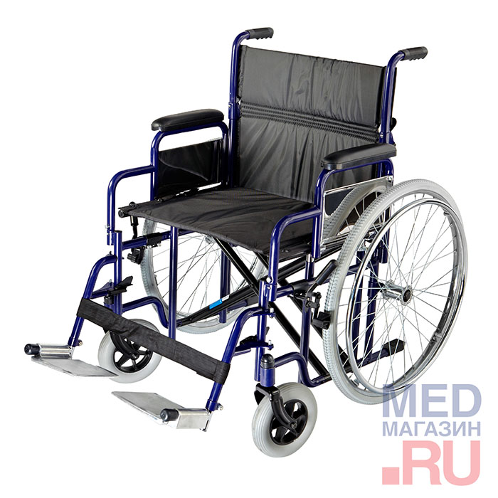 Купить Инвалидная кресло-коляска инвалидная широкая 3022C0304 SPU, Valentine, Тайвань