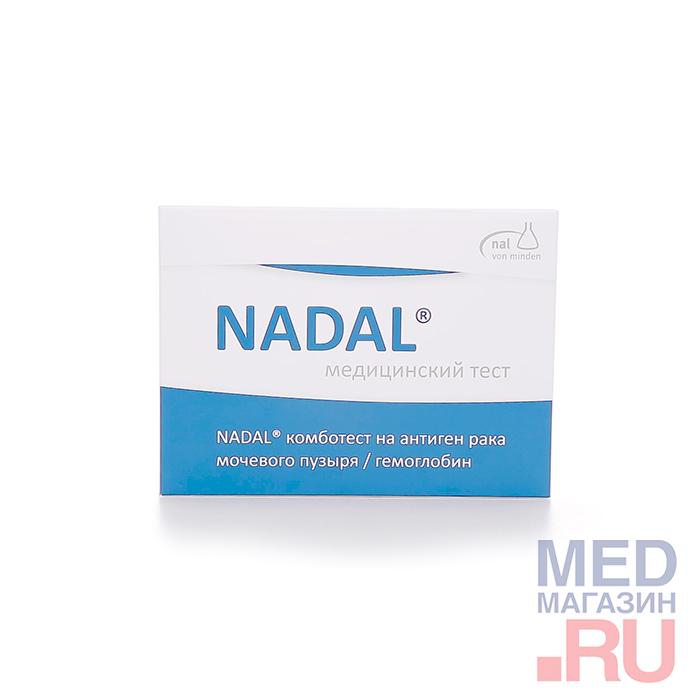 Медицинский тест NADAL комботест на антиген рака мочевого пузыря/гемоглобин
