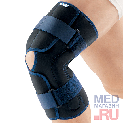 RKN-203 Бандаж на колено ортопедический с полицентрическими шарнирами, разъемный
