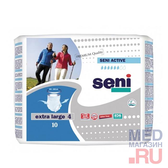 Трусики Seni Active,Extra Large,10шт/уп