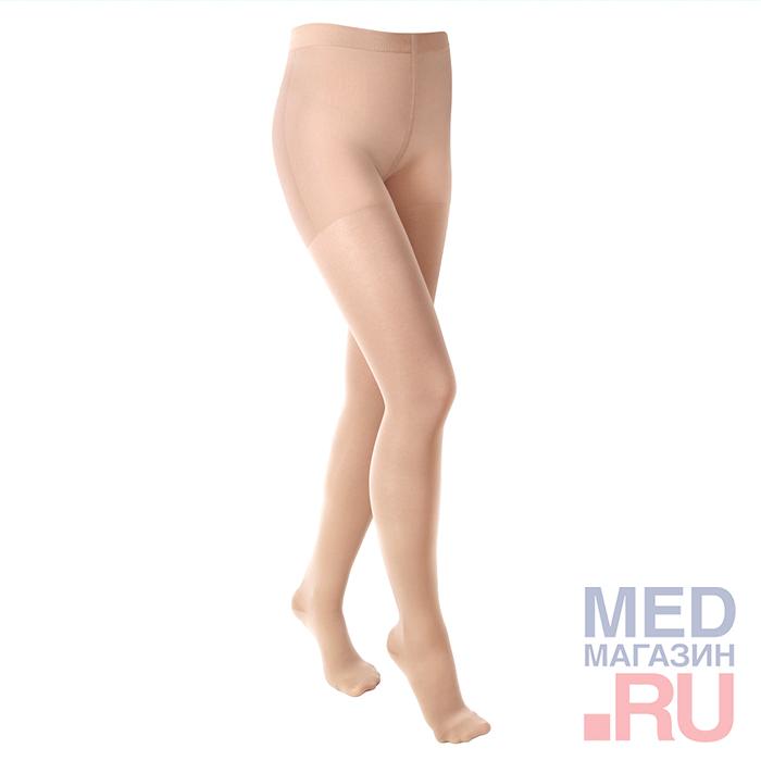 """Колготки медицинские компрессионные """"LUOMMA IDEALISTA"""" арт. ID-100 (2 класс, закрытый носок) фото"""