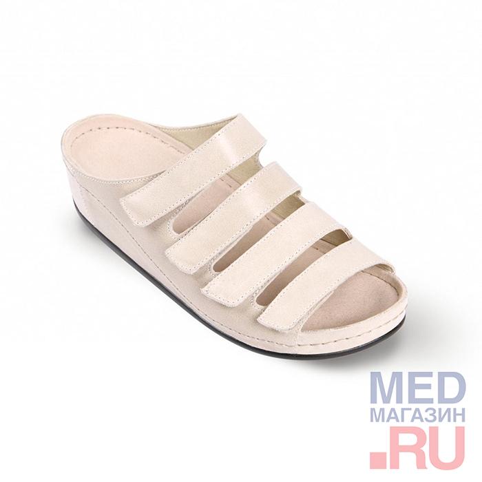 LM-503.035 Обувь ортопедическая малосложная LM ORTOPEDIC, белый перец, жен. фото