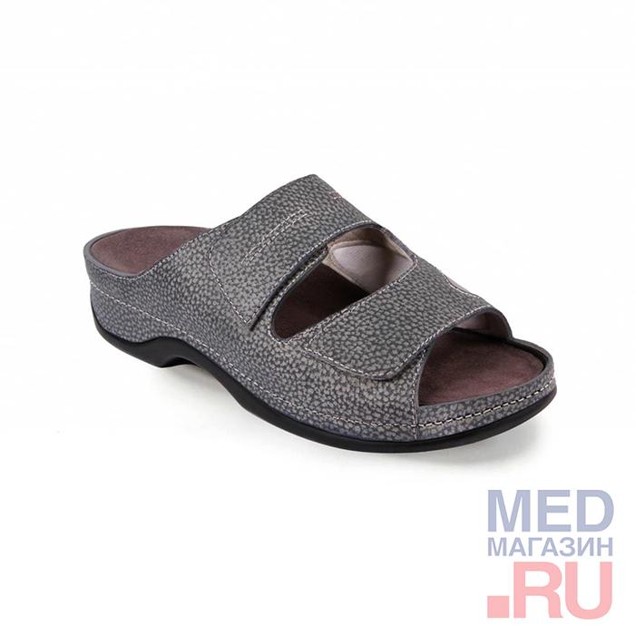 LM-501.004 Обувь ортопедическая малосложная LM ORTOPEDIC, джинс, жен. фото