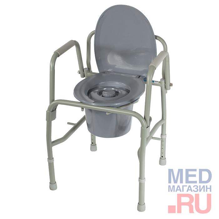 Кресло-туалет с откидными ручками 10583