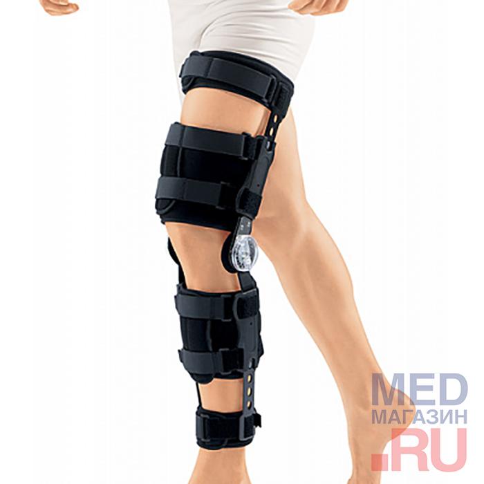 Купить Ортез на коленный сустав с ребрами жест. и регулятором угла сгибания HKS-303, Orlett, Германия