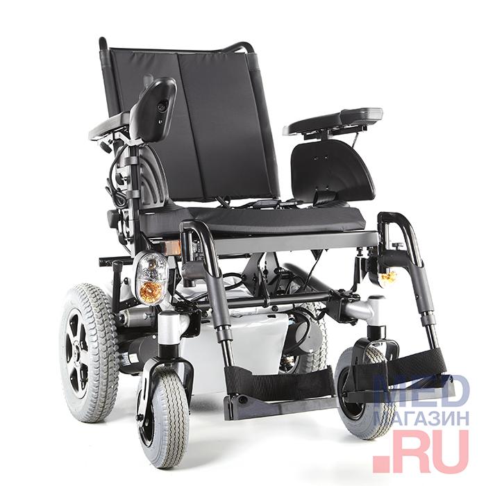 Инвалидная кресло-коляска с электроприводом Stream (Invacare)