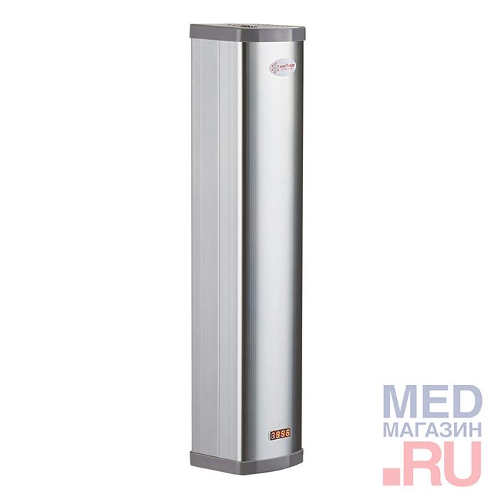 Облучатель-рециркулятор СН-111-130 (металлический корпус, серебро)