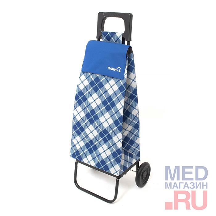 Тележка с сумкой 11R2 CP Cuadros Poliester шасси R2