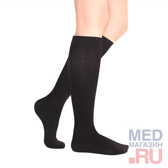 """Гольфы медицинские компрессионные """"LUOMMA IDEALISTA"""" арт. ID-215 (2 класс, закрытый носок)"""