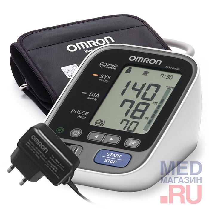 Автоматический тонометр Omron M3 Family с адаптером
