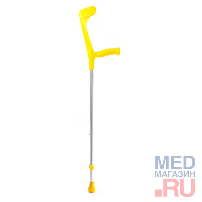 Костыль с опорой под локоть, вариант исполнения: 222KL-Standart ( Ergo-Grip) фото