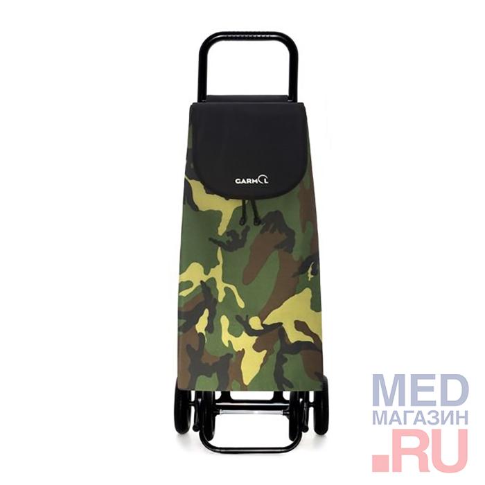 Купить Тележка с сумкой CAMUFLAJE шасси G4 (218G4 CMF), Garmol, Испания