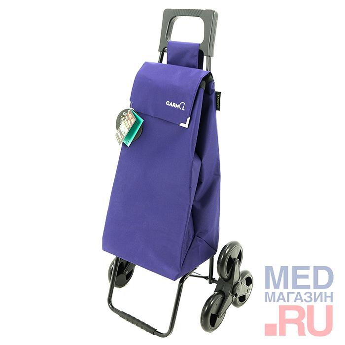 Купить 215 3X3 Тележка с сумкой Nylon шасси 3X3, цвет - красный, Garmol, Испания